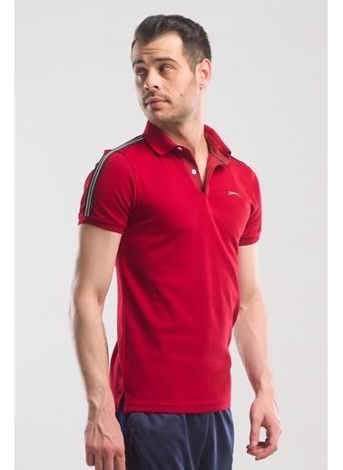 Slazenger Slazenger PANCO Erkek T-Shirt  Bordo